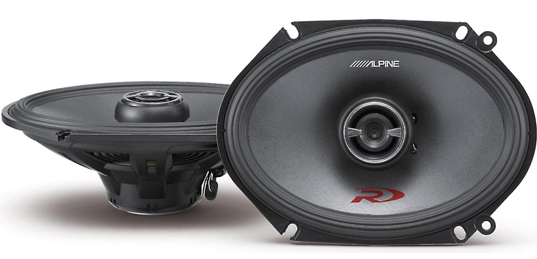 "6 x 8"" Full Range Speakers"