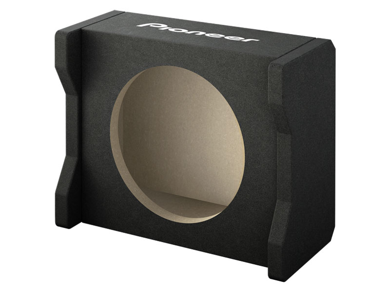 Empty Car Subwoofer Enclosures