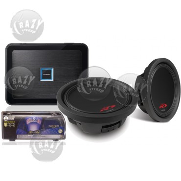 slimFIT Dual-Sub Bass System 8, by Crazy Deals
