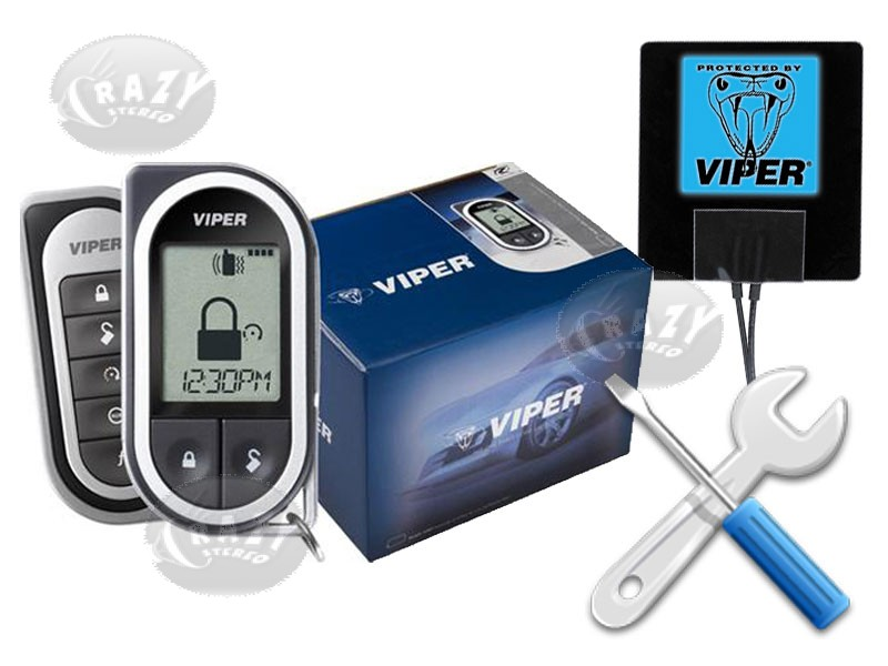 Viper Remote Start & Paging Security Special - Installed