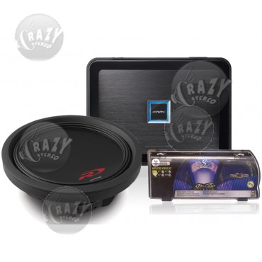 slimFIT Single-Sub Bass System 7, by Crazy Deals
