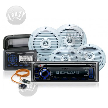 Marine Stereo-Speakers Combo 4, by Crazy Deals