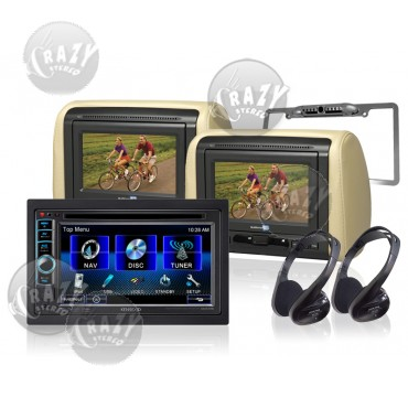 Kenwood Indash DVD / Rear Seat Video Package, by Crazy Deals