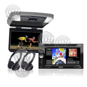 Sony Indash DVD / Rear Seat Video Package, by Crazy Deals