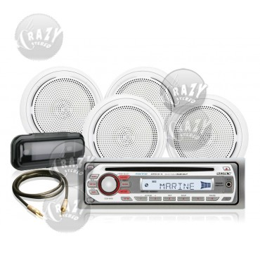 Marine Stereo-Speakers Combo 1, by Crazy Deals