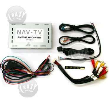 NAV-TV BMW09 WITH CAN (NTV-KIT174), by NAV-TV Store