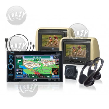 JVC Navigation-Video Package, by Crazy Deals