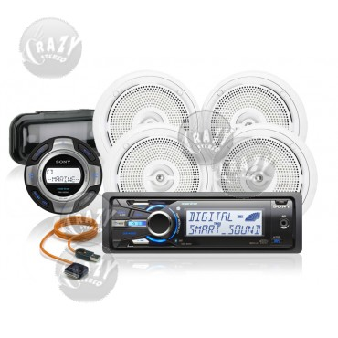 Marine Stereo-Speakers Combo 5, by Crazy Deals