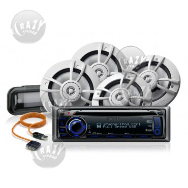 Marine Stereo-Speakers Combo 3, by Crazy Deals