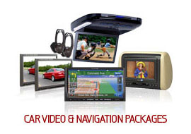 Car Video & Navigation Packages